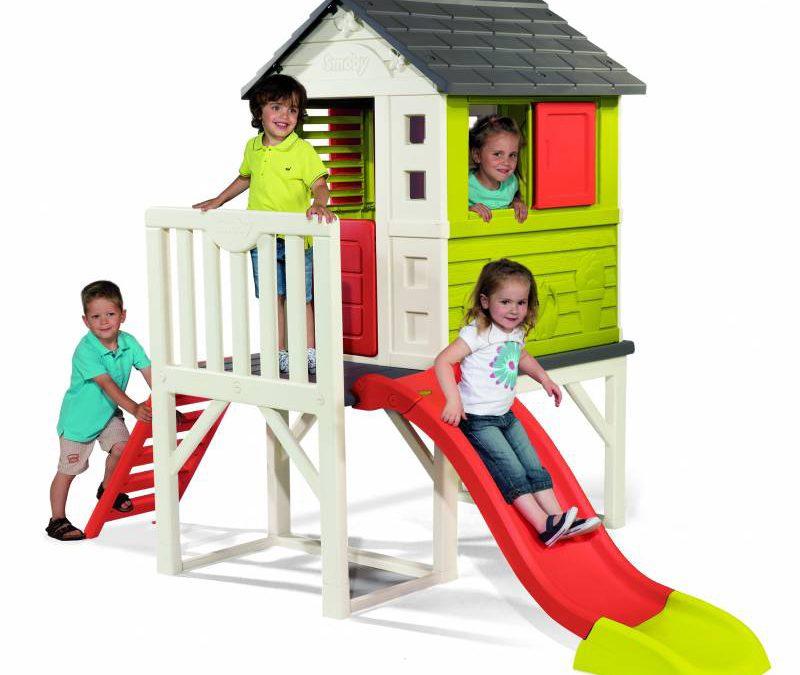 Co w ogrodzie dla zabaw dziecięcych latem?